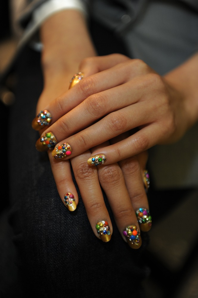 Libertine Fall 2013 Nail Art Takes Us To Mardi Gras In New Orleans ...