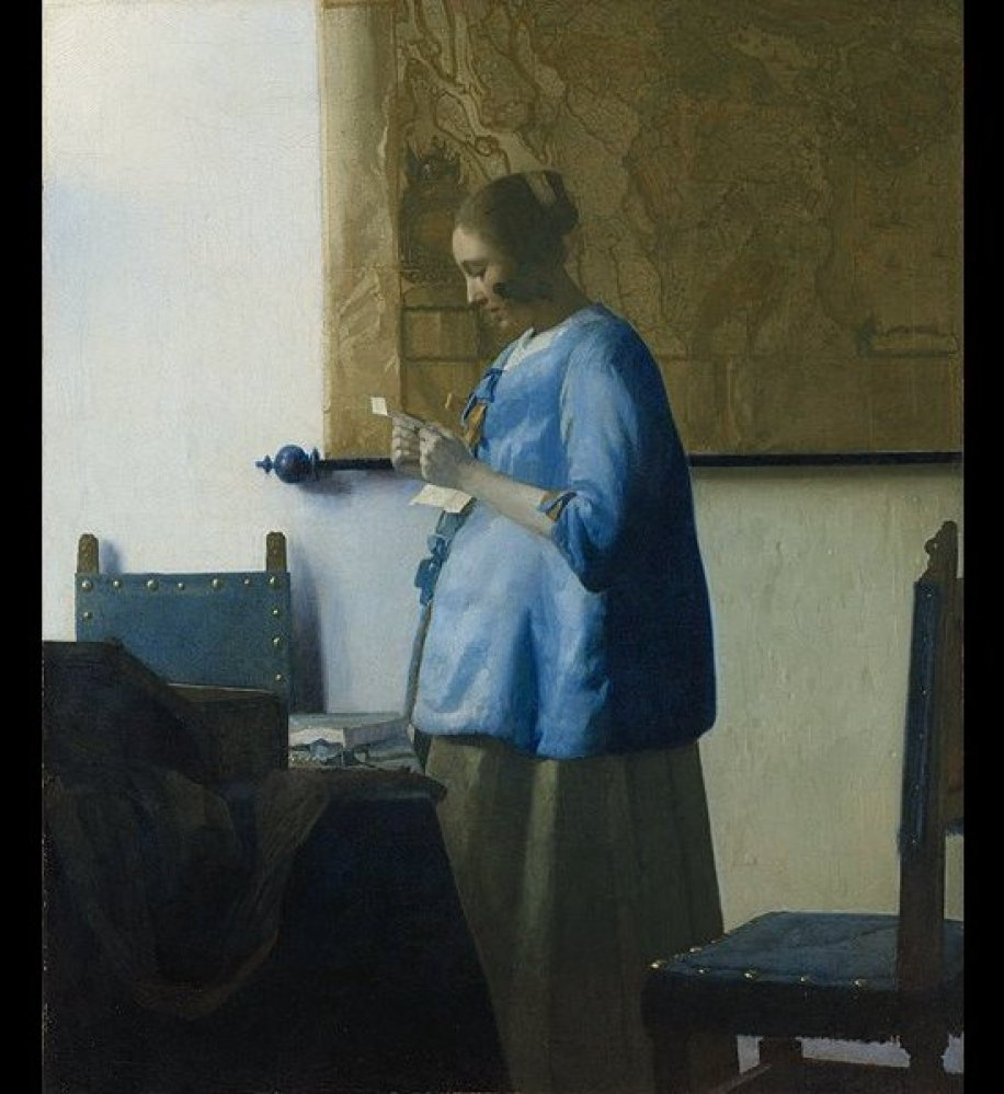 """Johannes Vermeer is one of the most celebrated artists of his time, and his softly-hued, peaceful portraits, such as """"The Gir"""