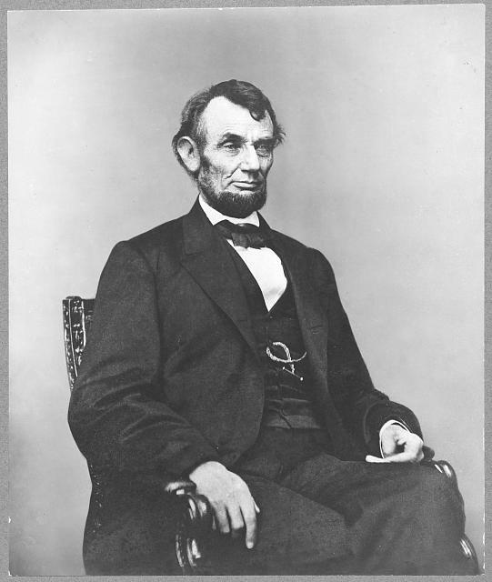 Sixteenth President Abraham Lincoln is famous for being born in log cabin in rural Kentucky. He received his formal education