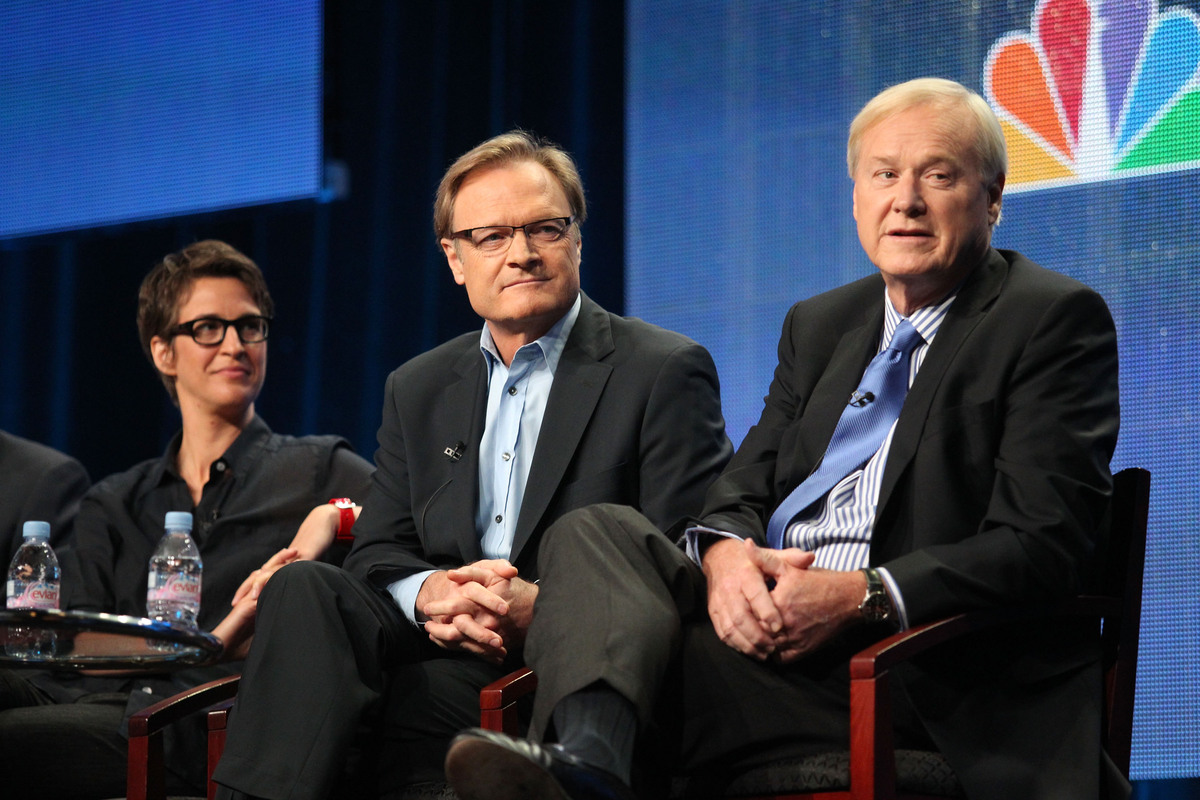 MSNBC's coverage starts at 8 p.m. ET on Tuesday, February 12. Coverage will be hosted by Rachel Maddow with Chris Matthews, w