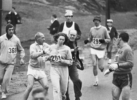 Kathrine Switzer broke a 70-year tradition in 1967 when she became the first woman to officially enter the Boston Marathon, b