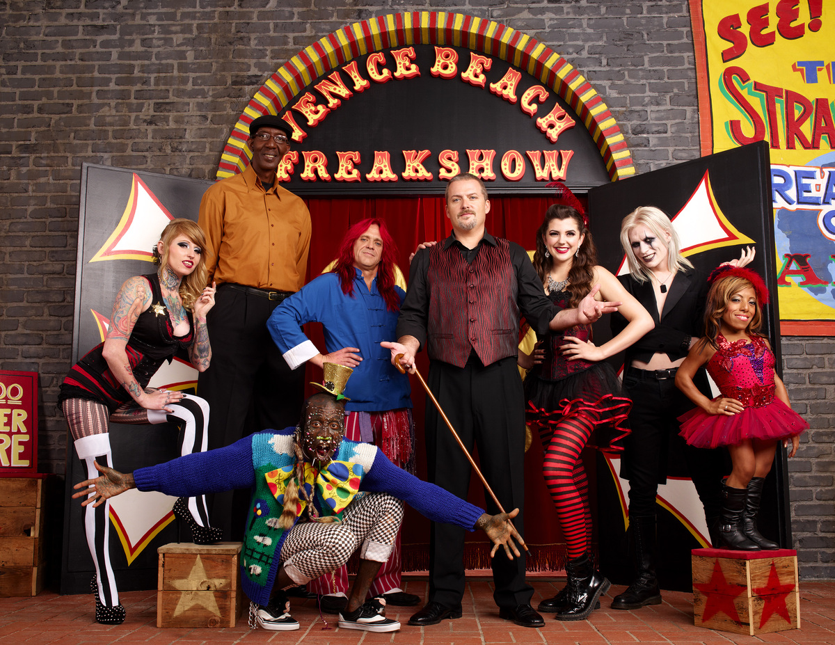 'Freakshow,' which airs Thursdays on AMC, follows the lives of Todd Ray, who runs the Venice Beach Freakshow in Los Angeles a