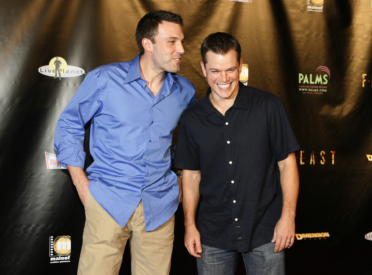 Hollywood Juggernauts And Best Friends Matt Damon Ben Affleck Are A Href