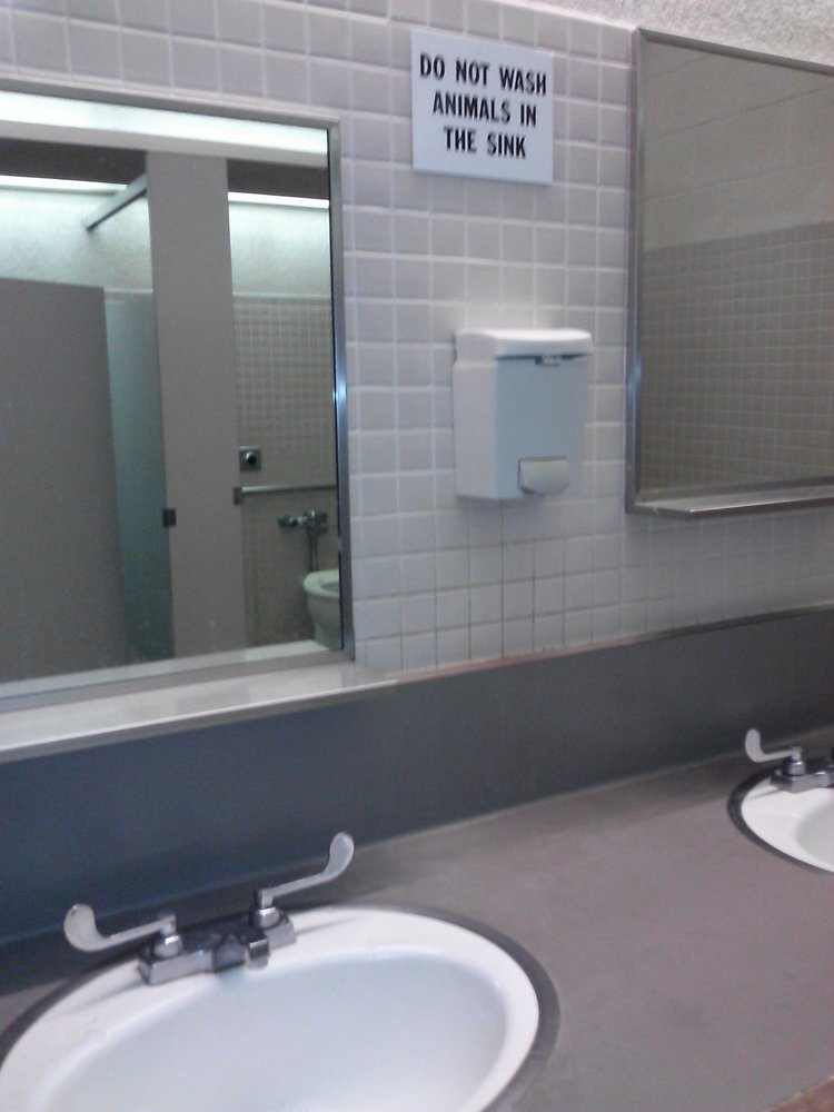 19 Funny Bathroom Signs Photos Huffpost
