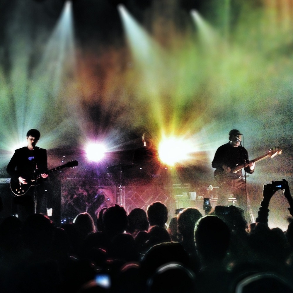 The XX at the House of Blues in New Orleans, La. Taken by instagrammer @satchfield