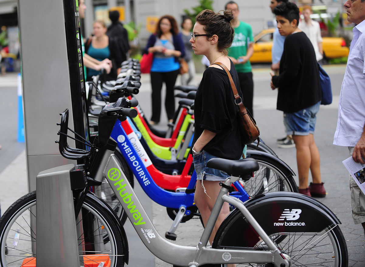 Bike share programs have revolutionized transportation in some of the country's largest cities, like Washington D.C., Minneap