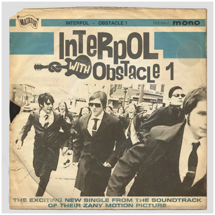 """""""New York 'miserablists' Interpol had a Beatlemania facelift as they're pursued through the streets by admiring fans."""" -Rober"""