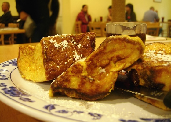 Start your day with French toast, Hawaiian style. Aloha Café opens at 8 a.m. daily, ready to serve giant blocks of warm, soft
