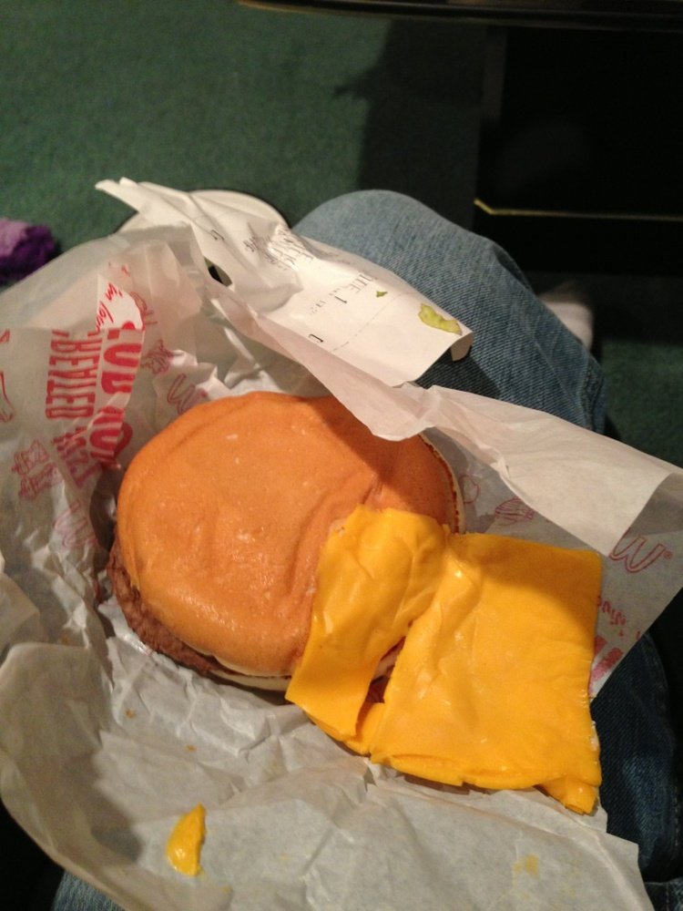 Why put the cheese in the burger, when you can just put it on the side?