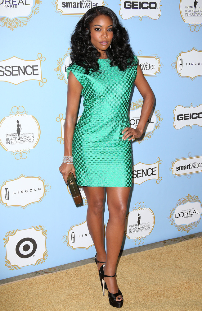 BEVERLY HILLS, CA - FEBRUARY 21:  Actress Gabrielle Union attends the Sixth Annual ESSENCE Black Women In Hollywood Awards Lu
