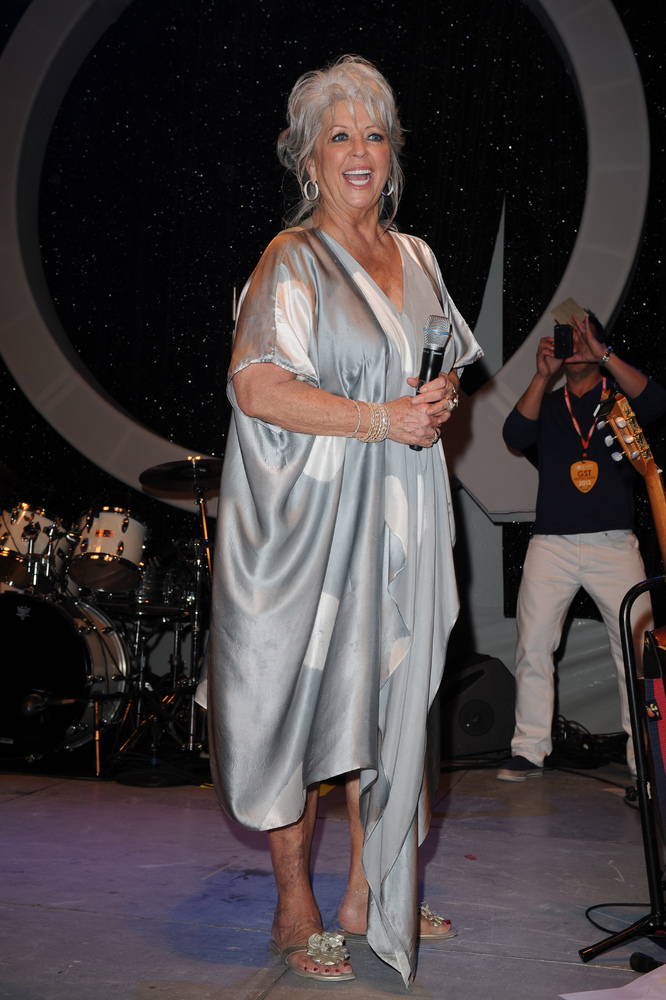 MIAMI BEACH, FL - FEBRUARY 21: Paula Deen attends South Beach Wine And Food Festival 2013 - The Q hosted by Paula Deen and So
