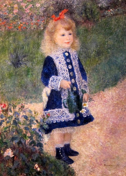 In the 1880s, Renoir travled throughout Europe and Northern Africa, venturing to Madrid to see the work of Diego Velazquez, I