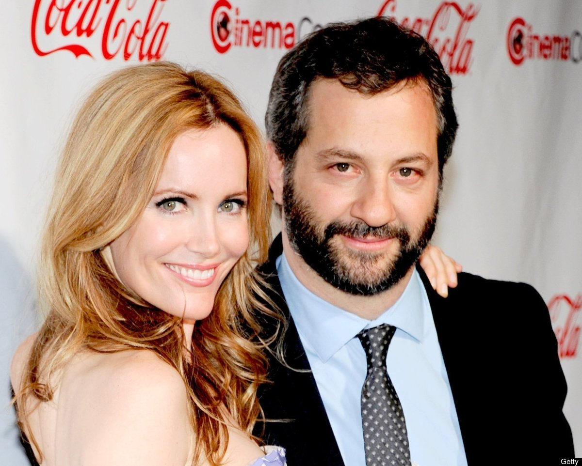 Apatow and actress Leslie Mann have been married for more than 10 years and have two daughters together.