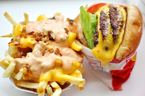 "The In-N-Out secret menu is actually publicized on the <a href=""http://www.in-n-out.com/menu/not-so-secret-menu.aspx"">company"