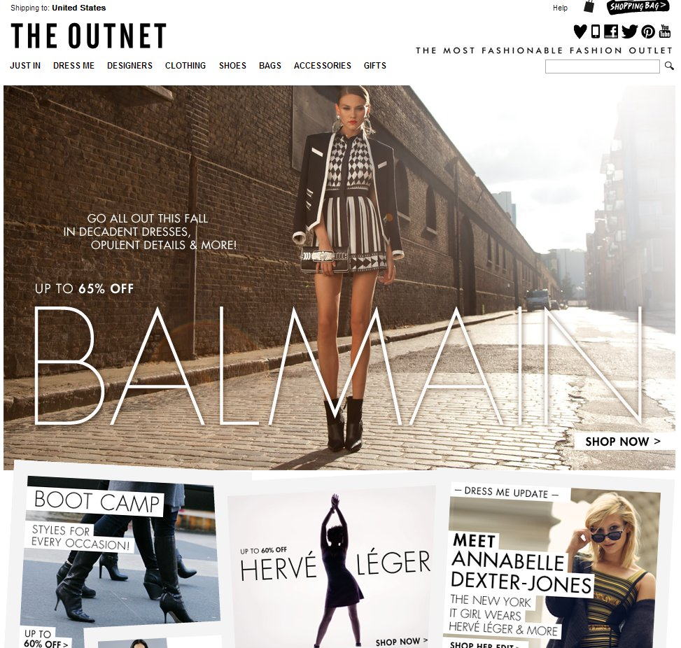 "<a href=""http://www.theoutnet.com/"">THE OUTNET.COM</a>"