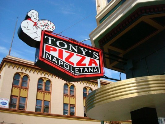 San Francisco's top pizza places include*:  Tony's Pizza Napoletana Little Star Pizza Pizzeria Delfina Patxi's Pizza Golden B