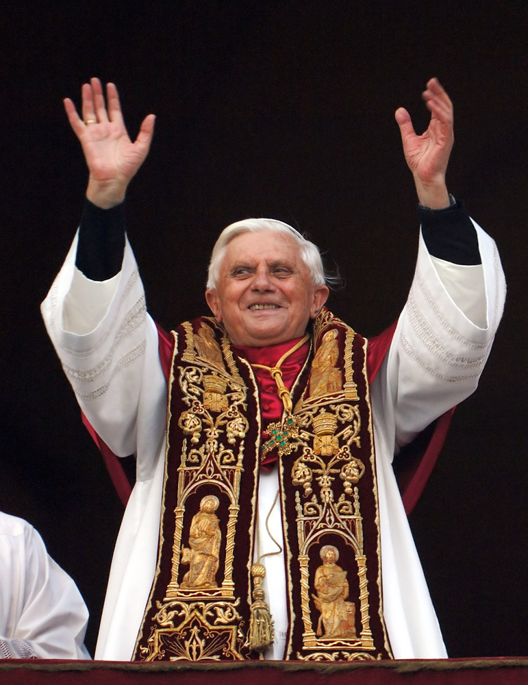 On April 19, 2005 Cardinal Joseph Ratzinger, Prefect of the Congregation for the Doctrine of the Faith, was elected as succes