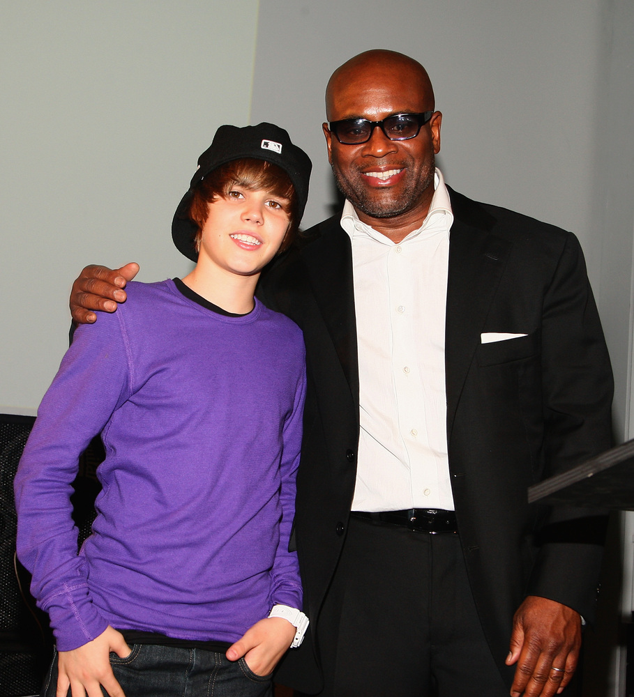"""Justin Bieber was only 14-years-old when L.A. Reid <a href=""""http://www.reuters.com/article/2009/07/19/us-bieber-idUSTRE56I2BM"""