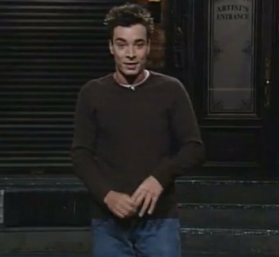 Jimmy Fallon's life changing audition from 1998 may have only lasted for 8 minutes, but in that time he crammed in over 20 fl