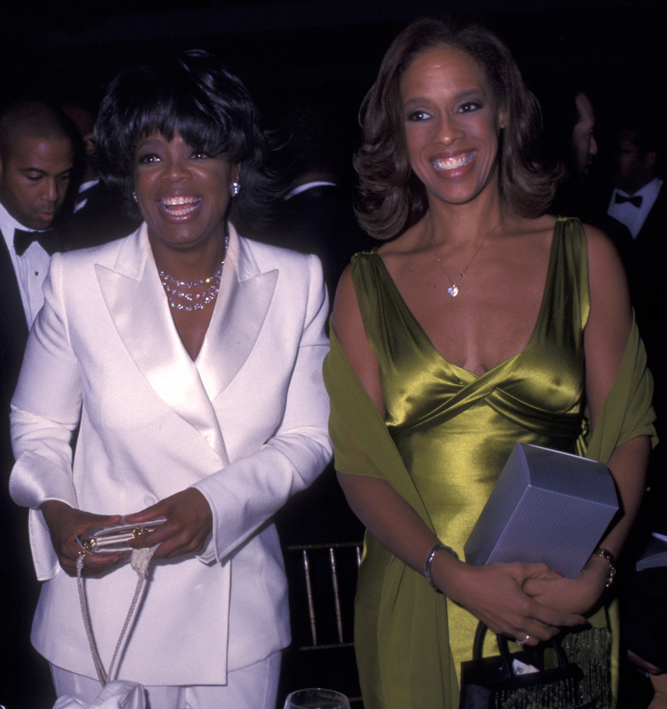 NEW YORK CITY - NOVEMBER 12:  Oprah Winfrey and Gayle King attend 46th Annual National Urban League Awards on November 12, 20
