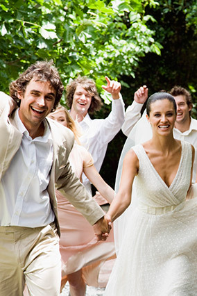 No, you're not imagining it: These days, one in four couples ties the knot in a far-flung locale rather than the local countr