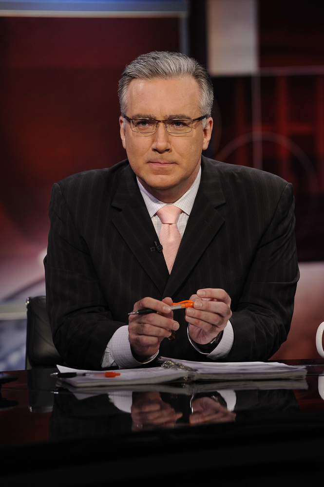 DECISION 2008 -- Tuesday, November 4, 2008 -- Pictured: Keith Olbermann -- NBC News Presents Comprehensive Coverage of the 20