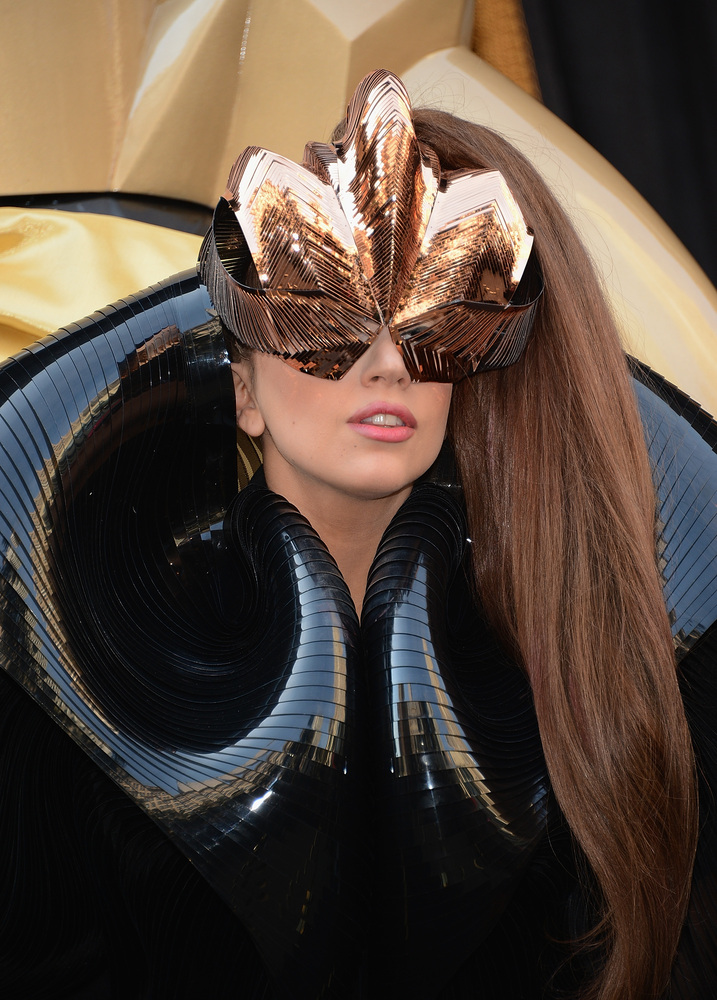 """""""When I wake up in the morning, I feel just like any other insecure 24-year old girl. Then I say, 'You're Lady Gaga, you get"""