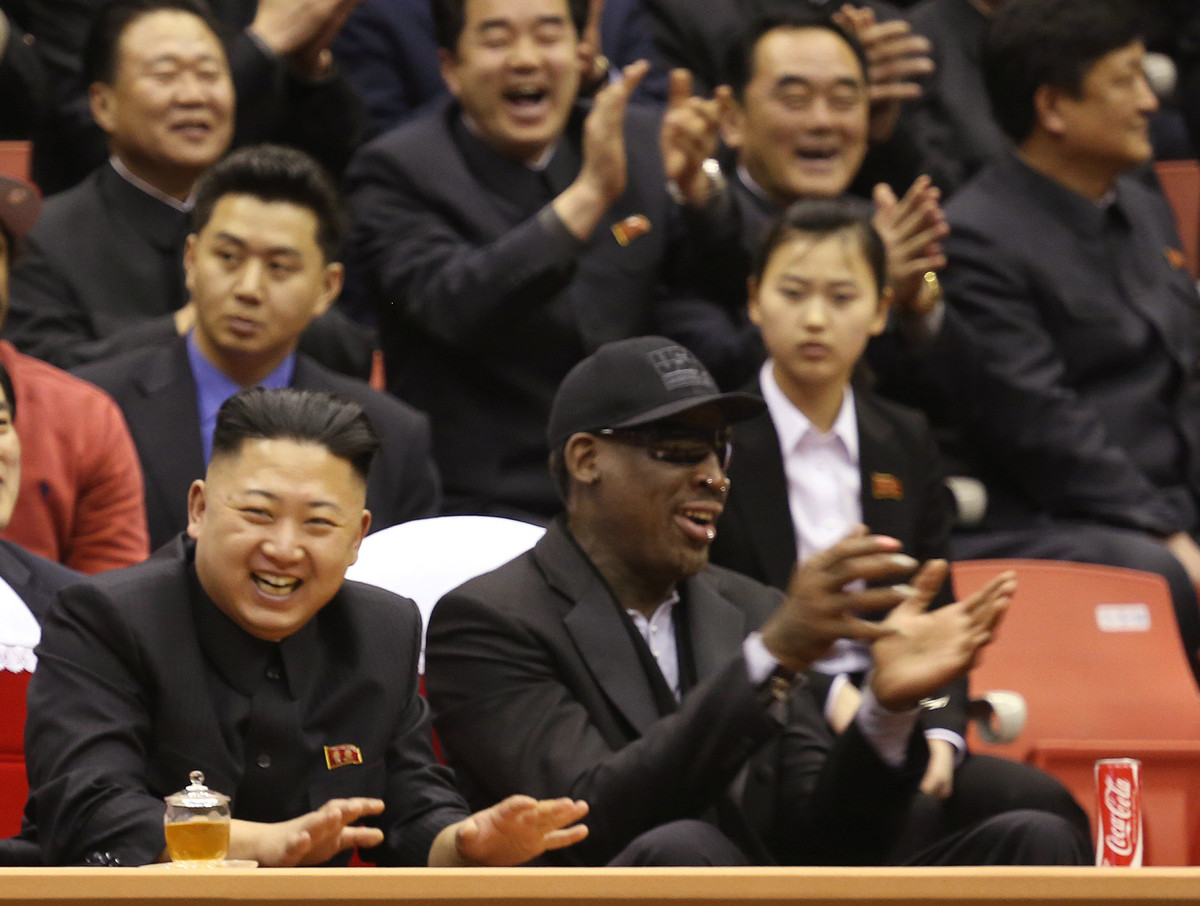 "The former basketball player called North Korea's leader a ""good guy"" and his friend."