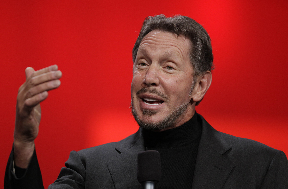 """The Oracle-founding, yacht-racing, Hawaiian island-buying college dropout is worth <a href=""""http://www.forbes.com/profile/lar"""