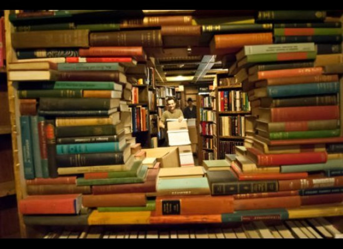 There is nothing that brings all age groups together like a good book. Find a good one, and then perhaps a few hundred more,