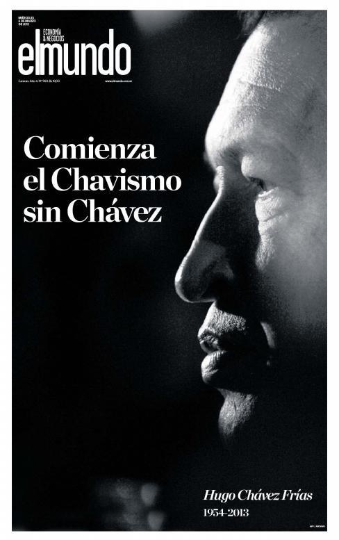 """<a href=""""http://www.elmundo.com.ve/"""">'Chavismo Without Chavez Begins'</a>  Venezuela"""