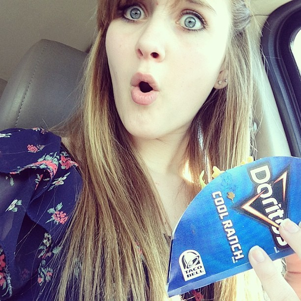 "Doritos locos tacos <a href=""https://twitter.com/search/%23CoolRanch"">#CoolRanch</a> <a href=""https://twitter.com/search/%23A"