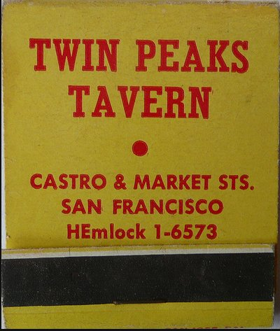"""This famous gay bar recently achieved<a href=""""http://www.huffingtonpost.com/2013/01/15/twin-peaks-tavern-sam-jordans-bar_n_24"""