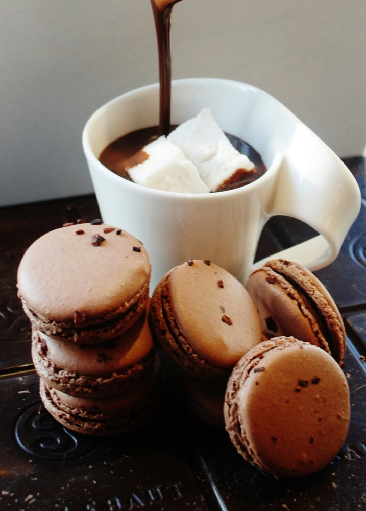 """Thick, rich European-style hot chocolate is the perfect pairing to <a href=""""http://www.sweetlobby.com/"""">The Sweet Lobby</a>'s"""