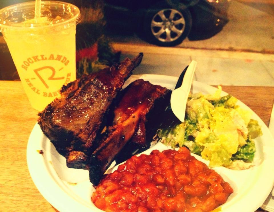 """If you want to eat BBQ in a small, storefront space, <a href=""""http://www.rocklands.com/"""">head northwest for the higher end Ro"""