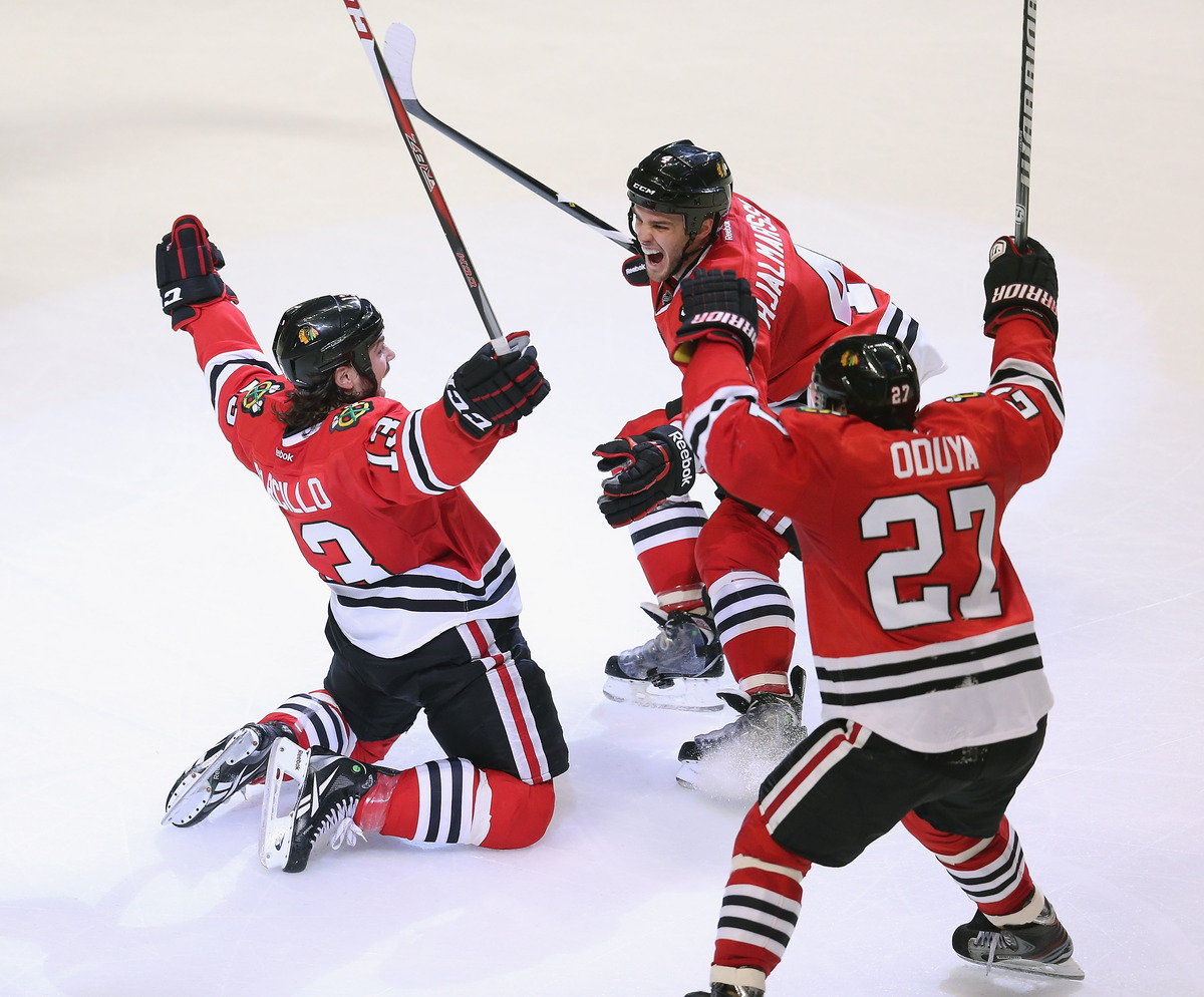 Here we thought hockey was the national pastime of Canada? The Blackhawks, as of Thursday, are still in the midst of not one