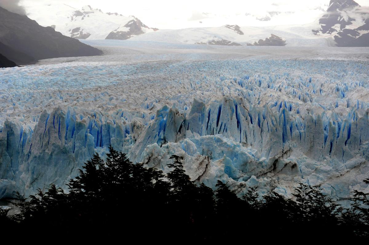 This Tuesday, Feb. 22, 2011 photo shows a view of Perito Moreno Glacier in Los Glaciares National Park in Argentina. Perito M