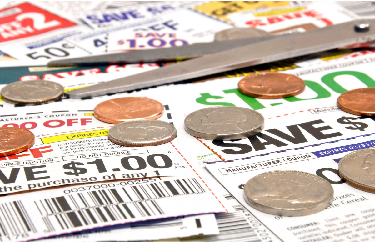 Spend a little time to save a lot of money. You don't need to spend hours clipping coupons -- 30 minutes to an hour once a we