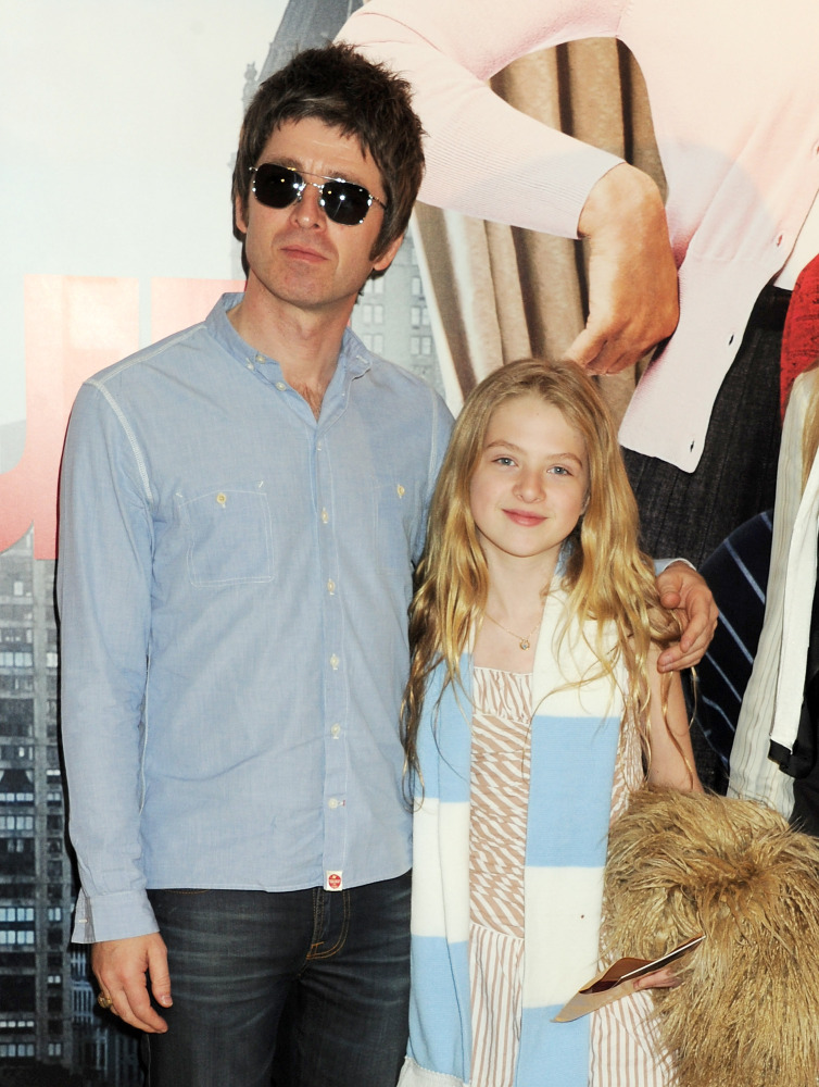 Noel Gallagher's tween, who's been shot by Mario Testino, has signed with Select Model Management.  Getty