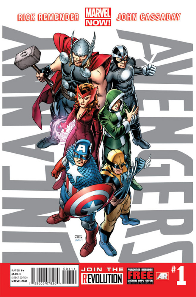 """This image provided by Marvel Entertainment shows the cover of the first issue of """"Uncanny Avengers."""" In comics, the first is"""