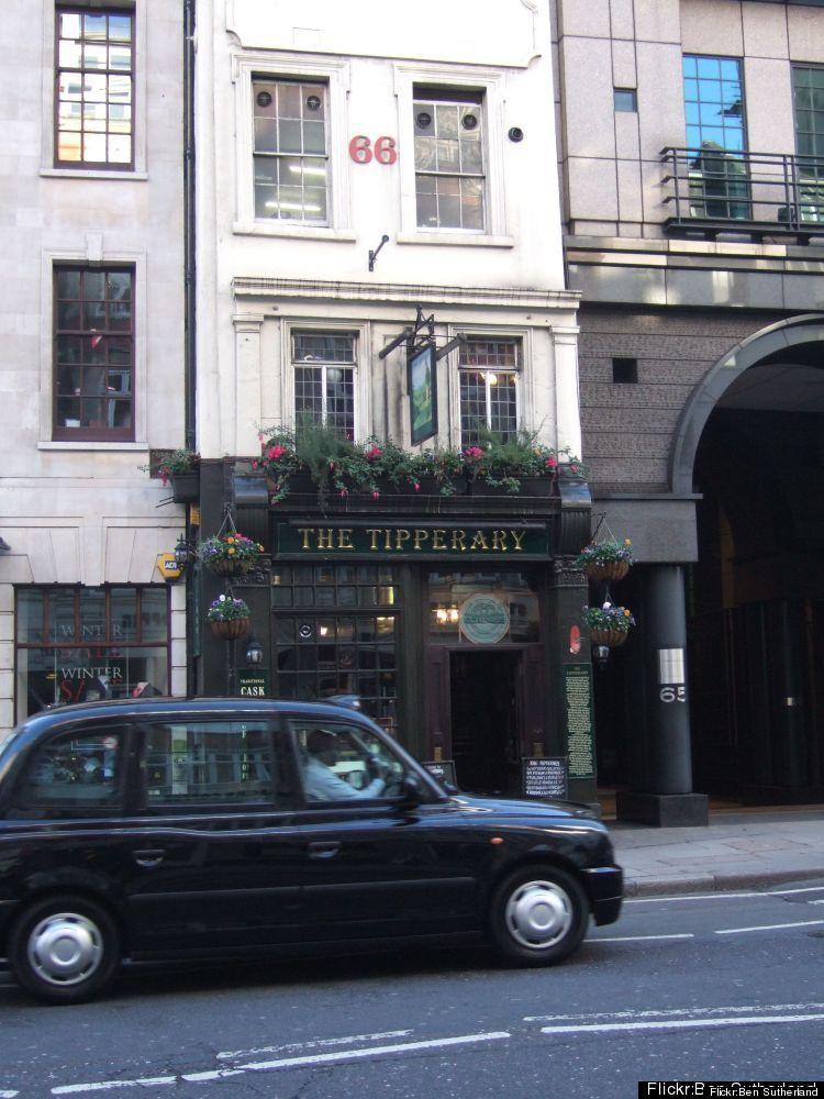 66 Fleet St., London, Greater London EC4Y 1HT  Standing on legendary Fleet Street, The Tipperary is London's oldest Irish p