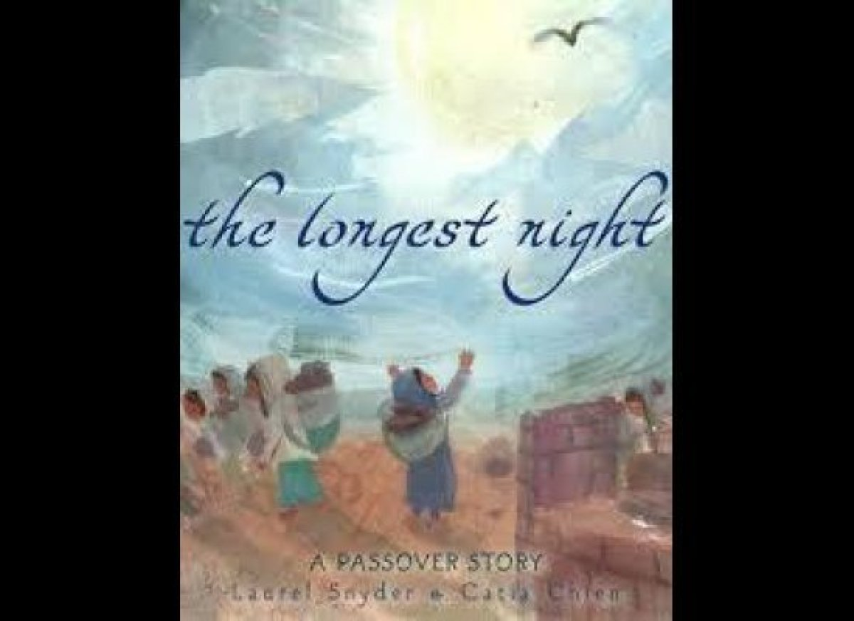 In the <em>Longest Night</em> (Schwartz&Wade) Laurel Snyder uses verse to tell the story of Exodus.  Catia Chien skillfully d