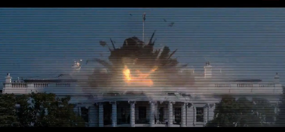 The upcoming Channing Tatum saves-the-world action movie blows up the White House, takes down planes with rocket launchers an