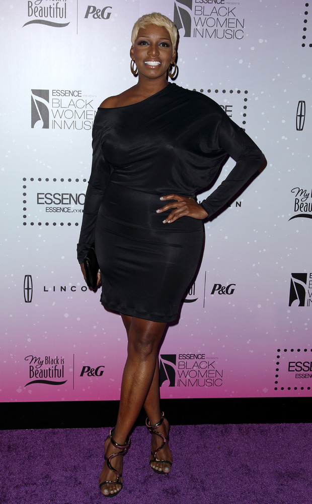 Nene Leakes attends the fourth annual ESSENCE Black Women in Music reception at the Greystone Manor, Wednesday, Feb. 6, 2013