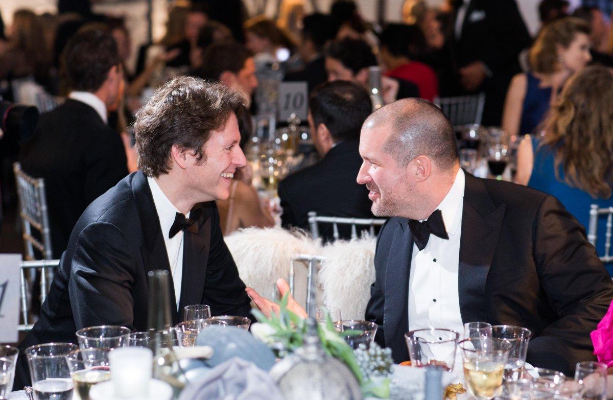 Gala Co-Chair Trevor Traina and Apple's Jonathan Ive