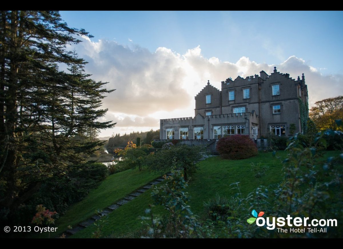 First up, Ballynahinch Castle Hotel. The 40-room Ballynahinch Castle Hotel is a less formal, more accessible alternative to t