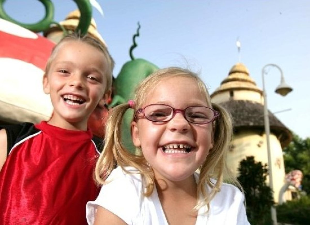 Give Kids The World is a non-profit storybook resort where children with life-threatening illnesses and their families are tr