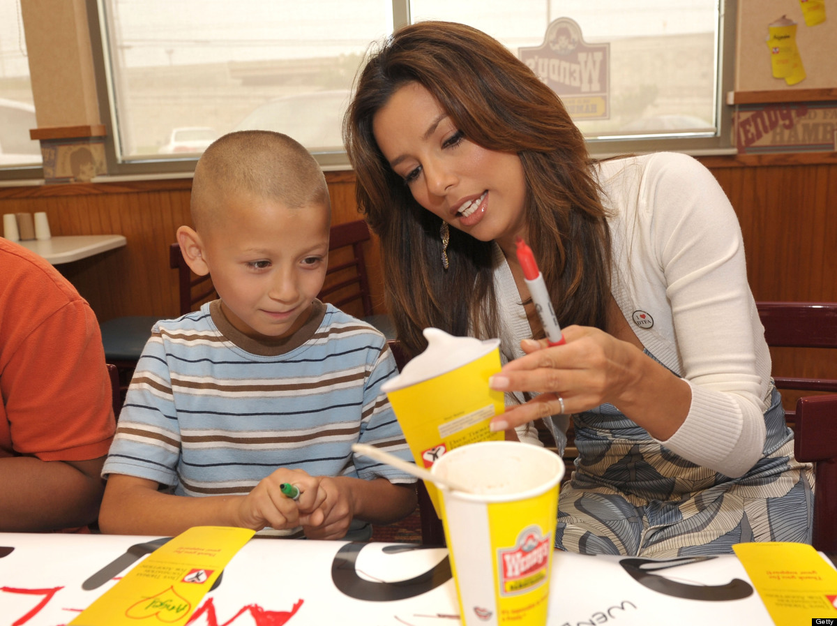 "Longoria <a href=""http://www.contactmusic.com/news/eva-keeps-in-touch-with-wendys-staff_1077508"" target=""_hplink"">told Latina"