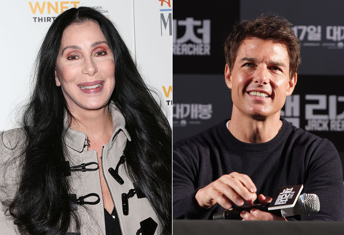 Before Tom had to reportedly audition ladies for the part, Cher was his main squeeze. Back in the mid '80s and before he beca