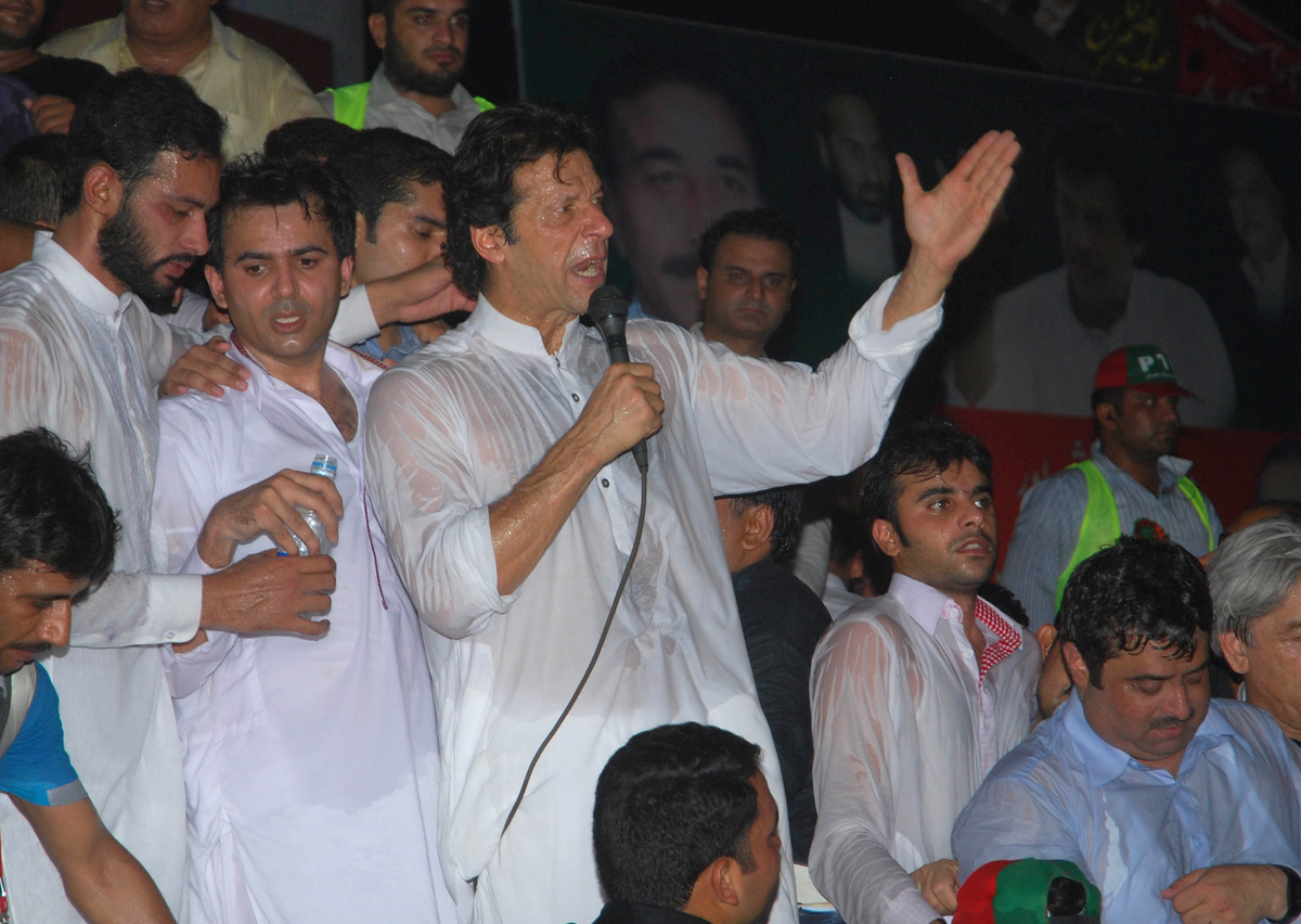 Khan is a Pakistani cricket legend-turned-politician who could have a significant impact on the upcoming election. He founded